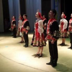 """Сибирский хореографический ансамбль """"Русь"""" в Павлодаре"""
