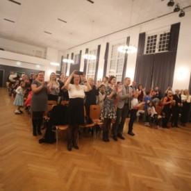 Концерт ансамбля РУСЬ в г. Страсбург зал Жозефина