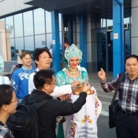 Встреча гостей из Китая г. Урумчи