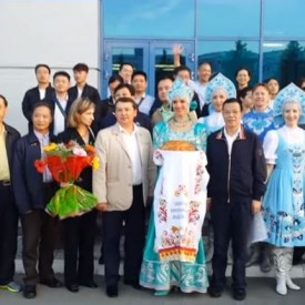 Встреча гостей из Китая