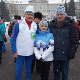 29-тый рождественский полумарафон Омск-2020